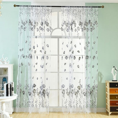 Window Curtains Sheer Voile Tulle Bedroom Living