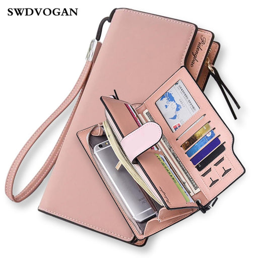 Women Wallets Handbag Wallet Case Xiaomi MI A1 Ladies Purse for Girls Wallet Female Phone Bag Case for iPhone Portefeuille Femme