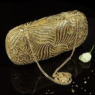 XIYUAN BRAND luxury and high quality womens silver handbags female golden evening bag ladies shoulderbags day clutch wallets