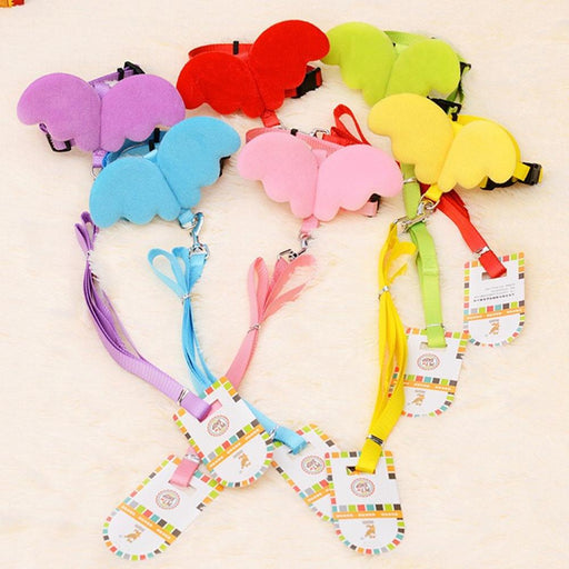 XS 6 Colors Adjustable Pet Vest Harness Traction Rope Puppy Kitten Chest Strap Retractable Walking Lead Leash Nylon Cat Supplies