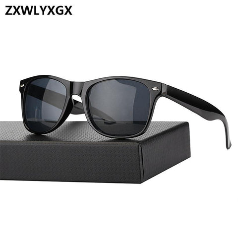 ZXWLYXGX adult special 2018 new reflective sunglasses men fashion sunglasses ladies fashion sunglasses Oculos de sol masculino