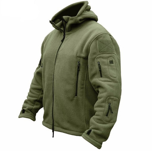 Zogaa Military Man Fleece Tactical Jacket Outdoor Polartec Thermal Breathable Sport Hiking Polar Jacket