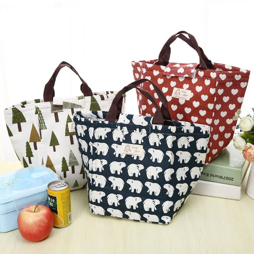 Lunch Bags Nice Samcustom 3d Print Cute Girl Style Rabbit Lunch Bags Insulated Waterproof Food Girl Packages Womens Kids Babys Boys Handbags Luggage & Bags