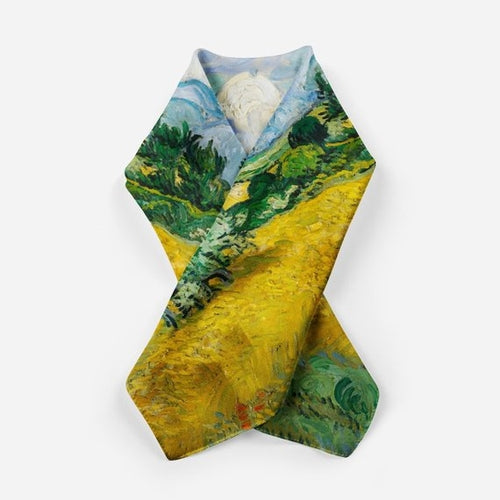 Van Gogh Scarves For Men Scarf Silk Scarf Square