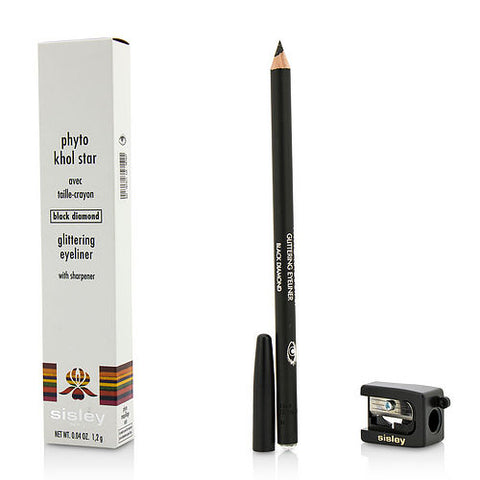 Sisley by Sisley Phyto Khol Star Glittering Eyeliner (With Sharpener) - #Black Diamond --1.2g/0.04oz