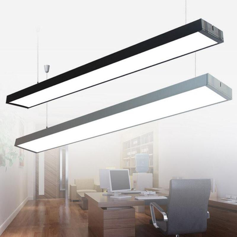 Led Office Chandelier Hanging Lights Office Chandeliers Line Lights Can Be  Stitched Office Lighting Side Bar