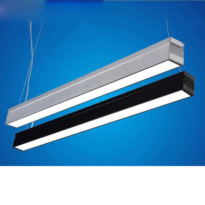 led office lighting 18W aluminum office chandeliers LED strip ceiling  lights hanging lighting fixture led office ceiling lamps