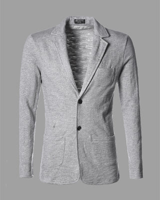 Male Casual Blazer Fashion Slim Knitted Suit Men S Clothing