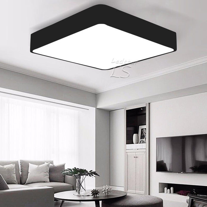 Ultra Thin Square LED Ceiling Lighting Ceiling Lamps For The Living Room  Chandeliers Ceiling For