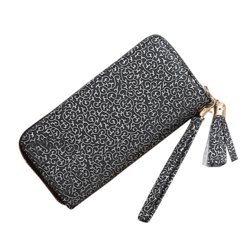 xiniu Fashion Women Tassels Long Wallet Card Holder Billfold Purse Phone womens wallets carteira feminina female purses