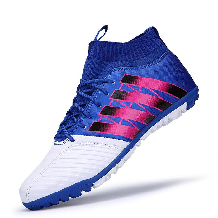 4c2a0a1fa ... Soccer Shoes Sneakers voetbal. zhenzu Eur size 35-44 Men Superfly  Original High Ankle Football Boots Turf Cheap Indoor
