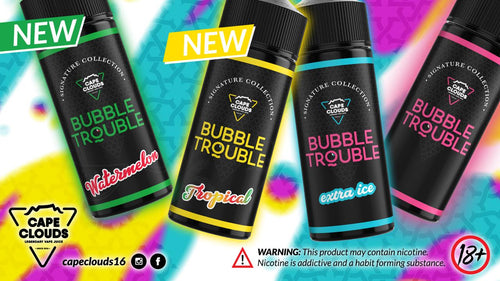 Cape Clouds - Bubble Trouble Watermelon, 120ml