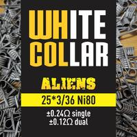 White Collar Coils - Aliens 0.12 (yellow)