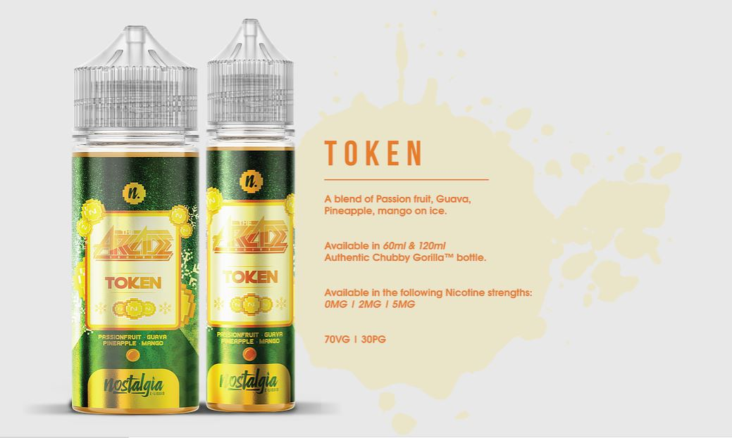 Nostalgia - Token, The Arcade Series 120ml
