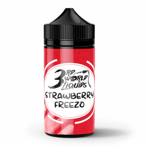 Cosmic Dropz: 3rd World Liquids - Strawberry Freezo 120ml