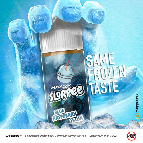 Vapology - Blue Raspberry Slurpee,120ml