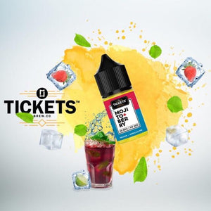 Tickets Brew- Berry Mojito, MTL 30ml