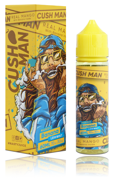 Cushman, Nasty Juice -  Mango Banana 60ml 3mg