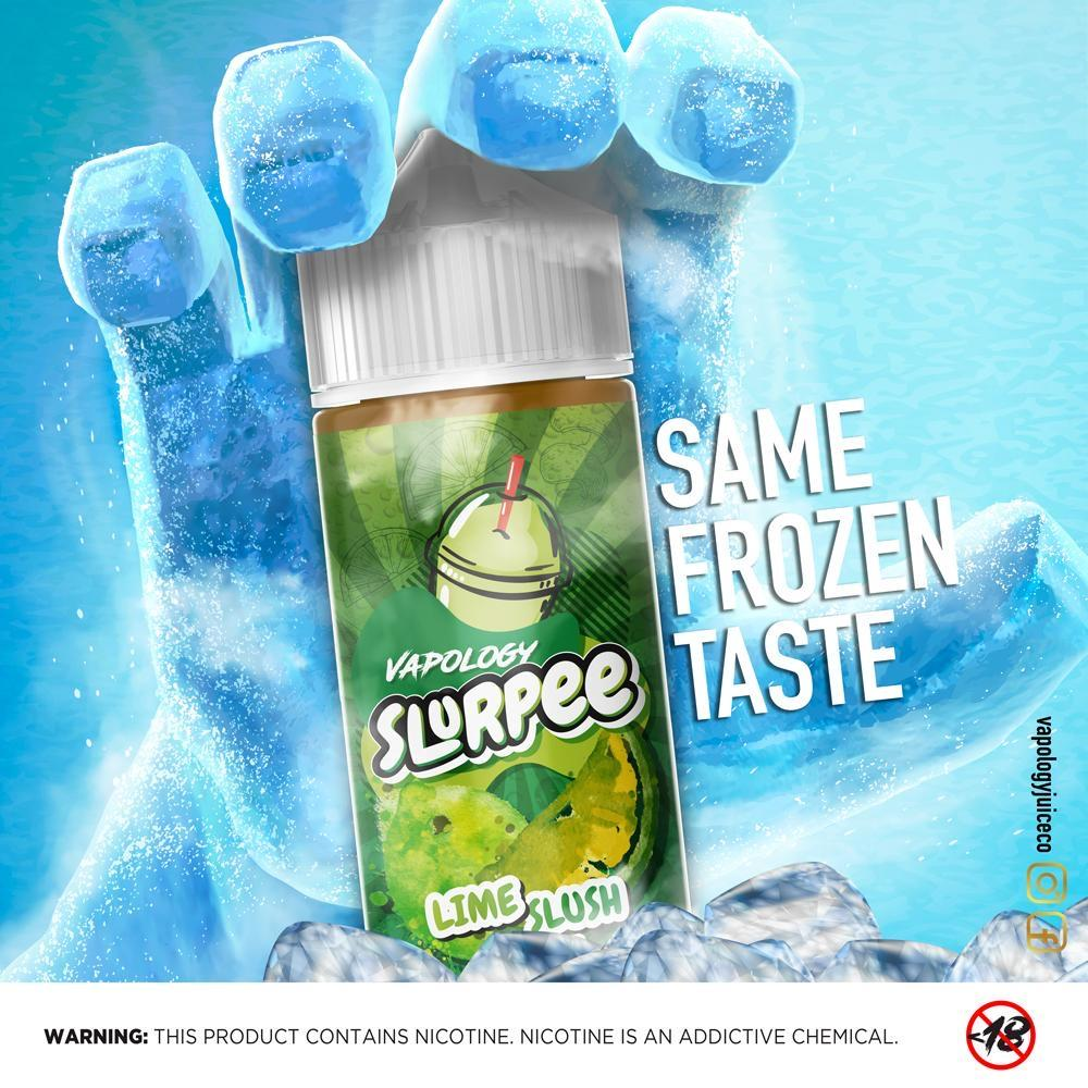 Vapology - New Label Lime Slurpee,120ml