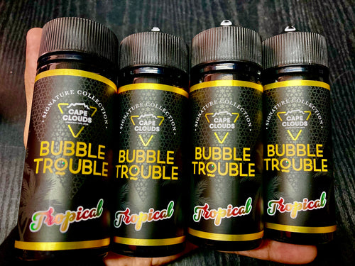Cape Clouds - Bubble Trouble, Tropical 120ml