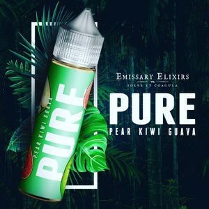 Emissary Elixirs - Pure Green, Pear Kiwi Guava 60ml