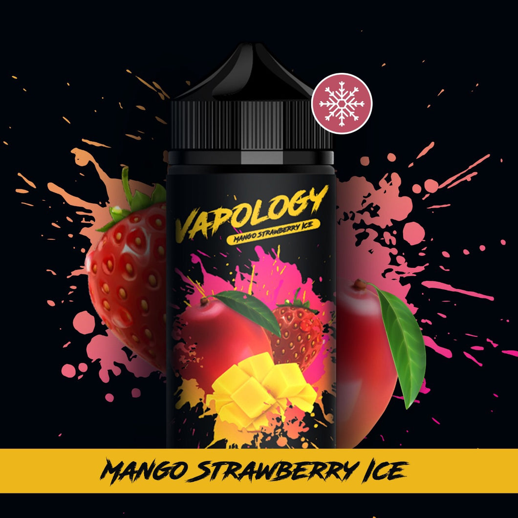 Vapology - Mango, Strawberry & Ice 120ml