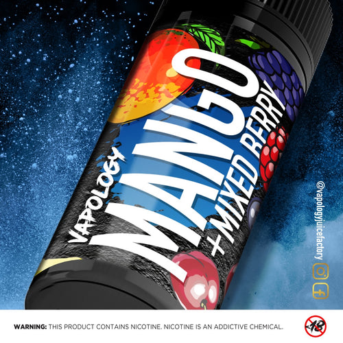 Vapology - Mango Mixed berry Ice, 120ml