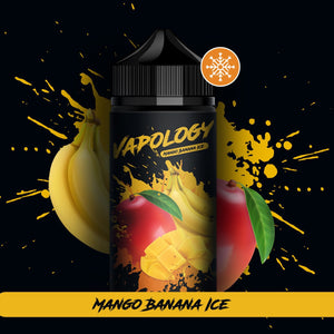 Vapology - Mango, Banana & Ice 120ml 2mg