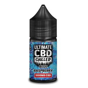 Ultimate Puff Chilled - Blue Raspberry CBD 1000mg