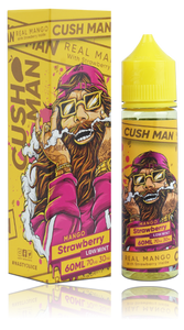 Cush Man, Nasty Juice - Mango Strawberry 60ml 3mg
