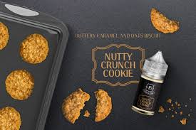 Joose-E-Liqs - Nutty Crunch Cookie MTL 12mg