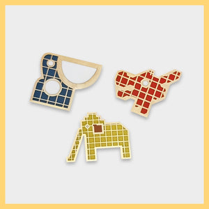 Singapore Playground Pin Set