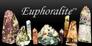 Euphoralite, which includes Lithium form of Lepodolite, Blue Tourmaline, Quartz and Mica