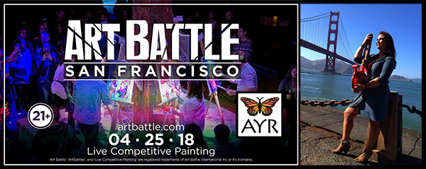 Melissa Ayr - Joins Art Battle San Francisco!