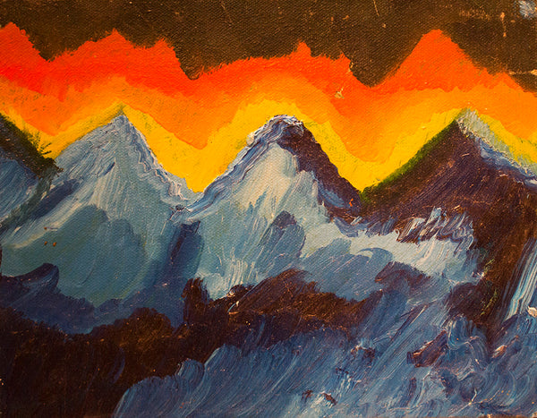 Blu Mountains, Melissa Ayr Artist