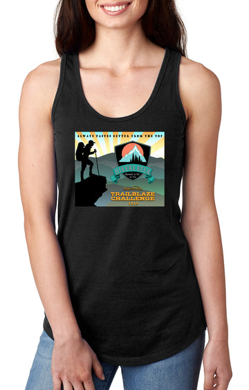 Trailblaze Challenge Women's Gatherback Tank Black