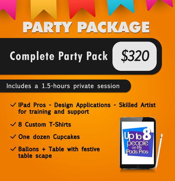 Complete Party Package -- Deposit