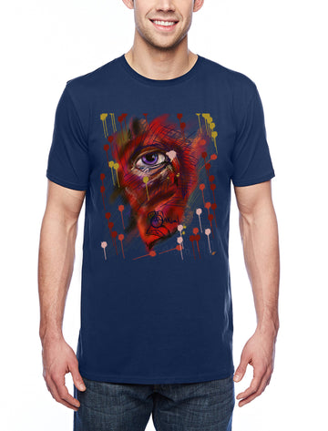 Eye Adult Lightweight Tee Navy