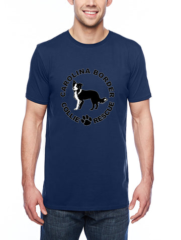 CBCR logo it Adult Lightweight Tee Navy