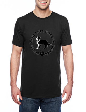 CBCR logo it Adult Lightweight Tee Black
