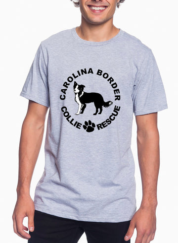 CBCR logo it Adult Lightweight Tee Heather Grey