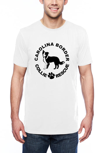 CBCR logo it Adult Lightweight Tee White