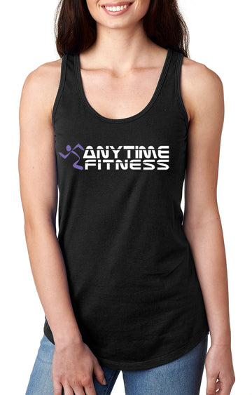Anytime Fitness Women's gather back tank Black
