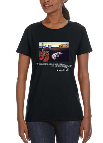 Dali Women's Lightweight Tee Black