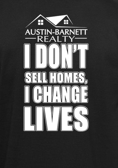 Change Lives Long sleeve hooded T-shirt Black