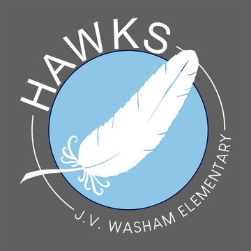 Hawk Feather white writing