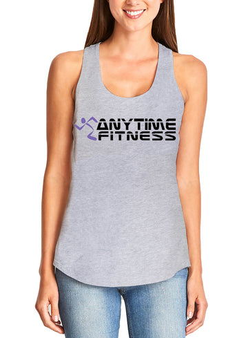 Anytime Fitness Women's gather back tank Grey