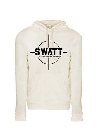 SWATT Black Next Level Fleece Pullover Hoodie Natural