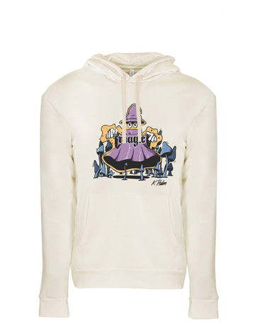 Magic Next Level Fleece Pullover Hoodie Natural