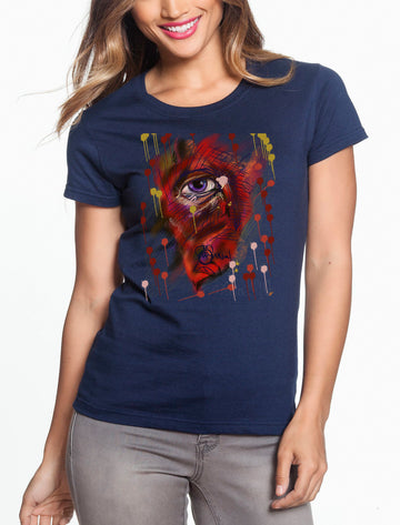 Eye Women's Lightweight Tee Navy